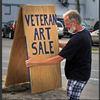 Vet art sale