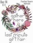 gathering last minute